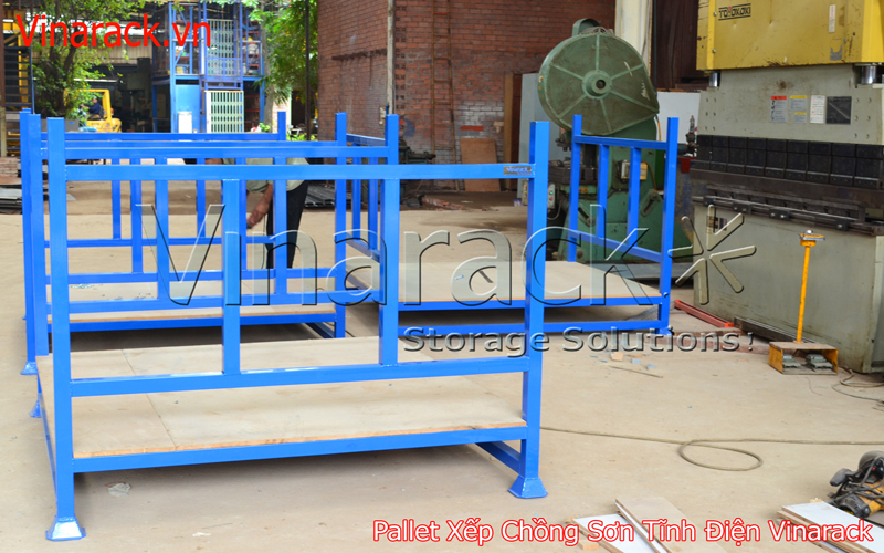 Pallet xếp chồng steel