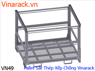 Steel metal iron pallet factory