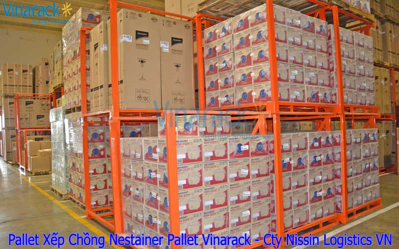 Pallet xếp chồng Nestainer