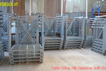 Stackable Steel Pallet