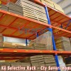 Warehouse Storage Pallet Steel Combined With Shelves Selective